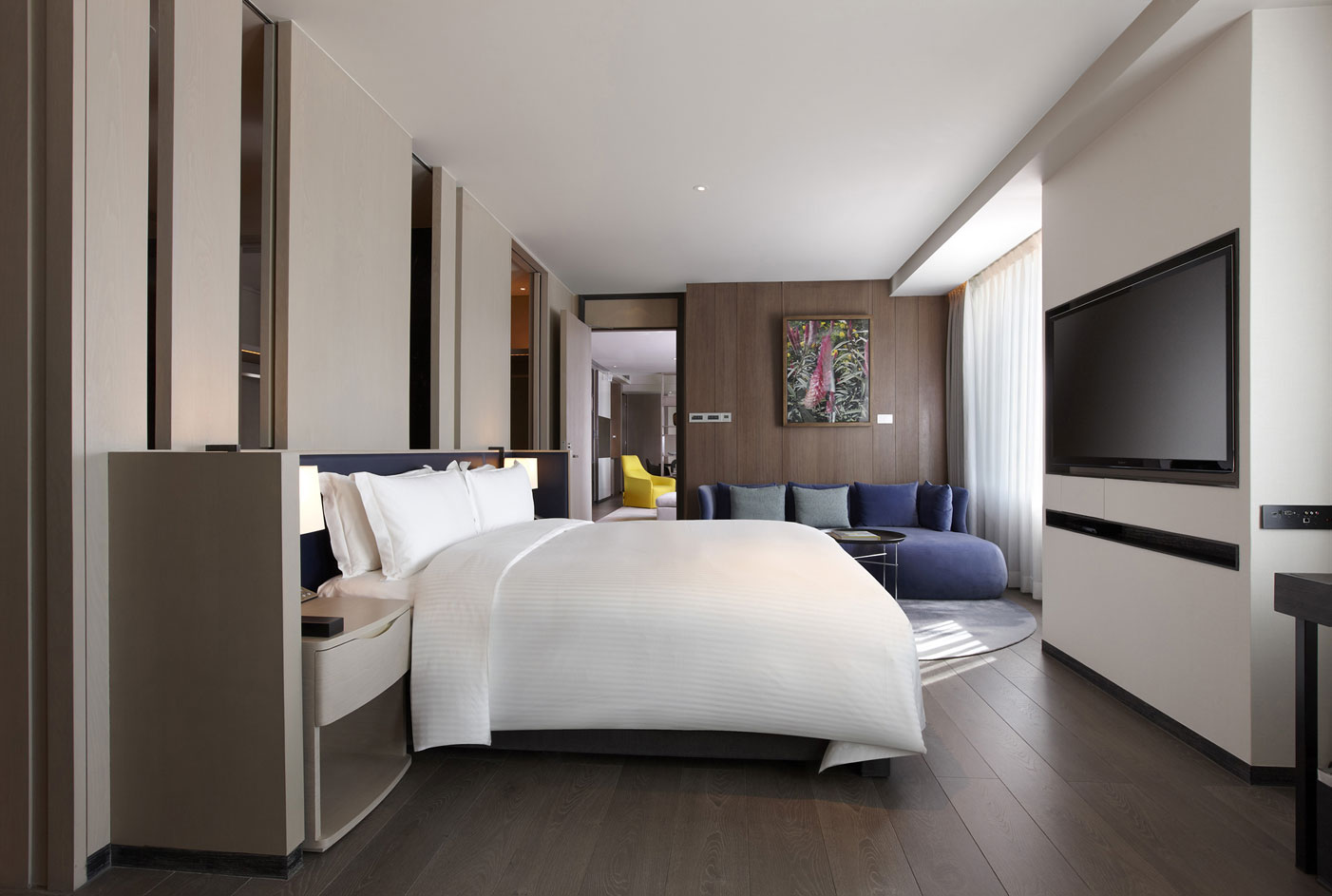 Humble house taipei rooms humble house residence for Hotel bedroom designs