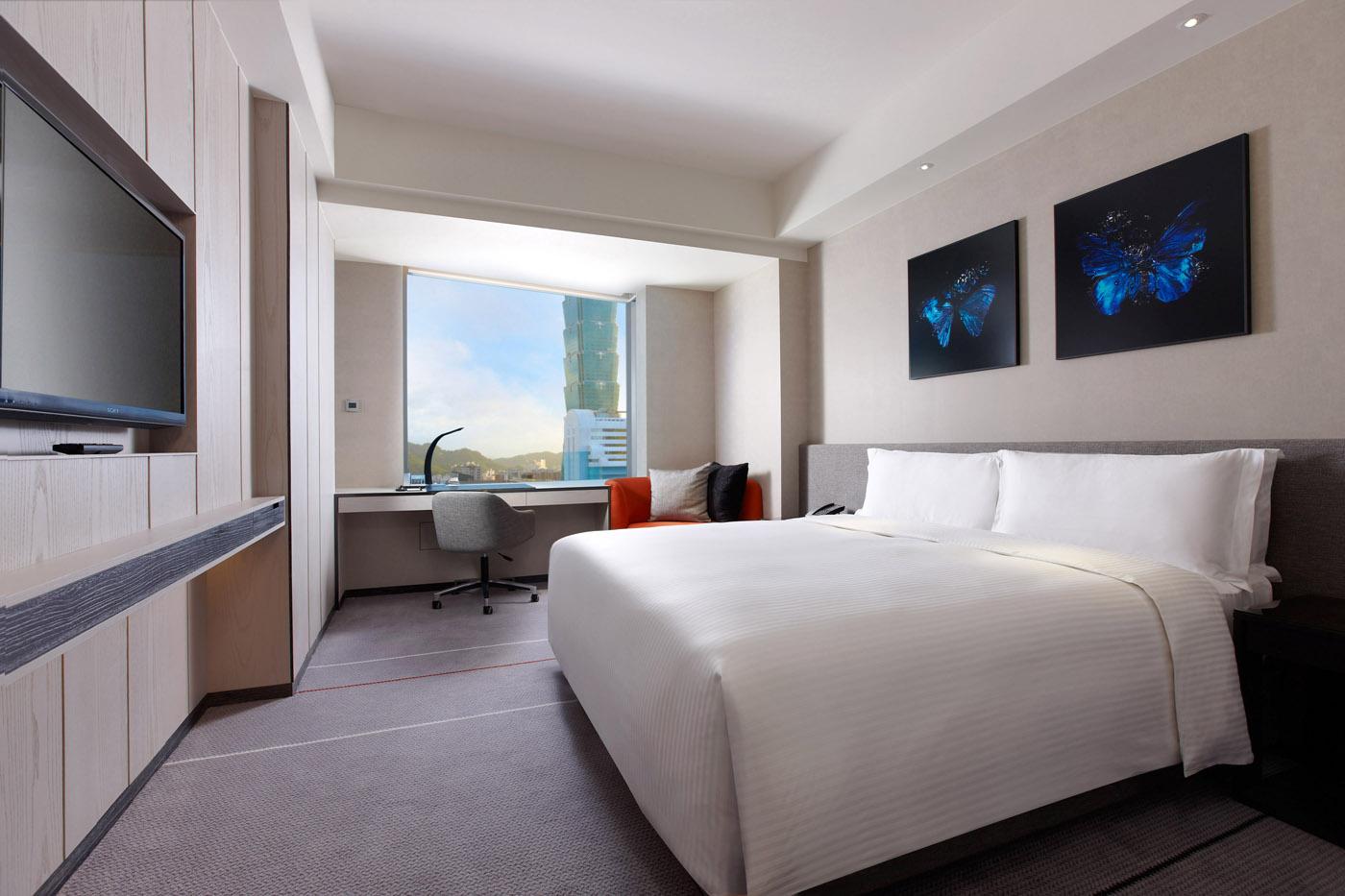 寒舍艾麗酒店 客房與套房 景隅精緻客房